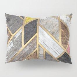 Rustic Scandinavian Design - Wide Pillow Sham
