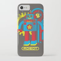 law iPhone & iPod Cases featuring Asimov's Law by Maggie Davidson