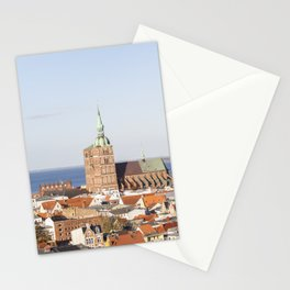 Stralsund – Hanseatic City At The Baltic Sea Stationery Cards