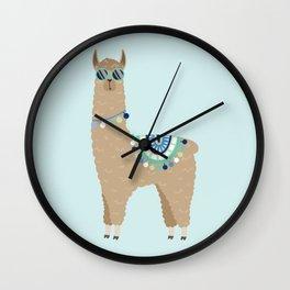 Super Cool Llama Wall Clock