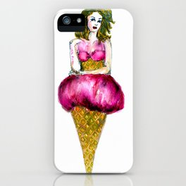 Grosella Ice cream iPhone Case