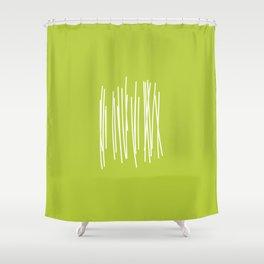 Wood - Minimal FS - by Friztin Shower Curtain