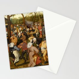 """Pieter Brueghel II (The Younger) """"Wedding Dance in the Open Air"""" Stationery Cards"""