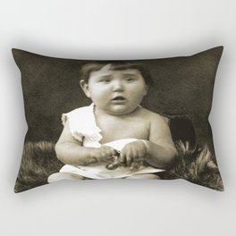 Yesteryear Baby Rectangular Pillow