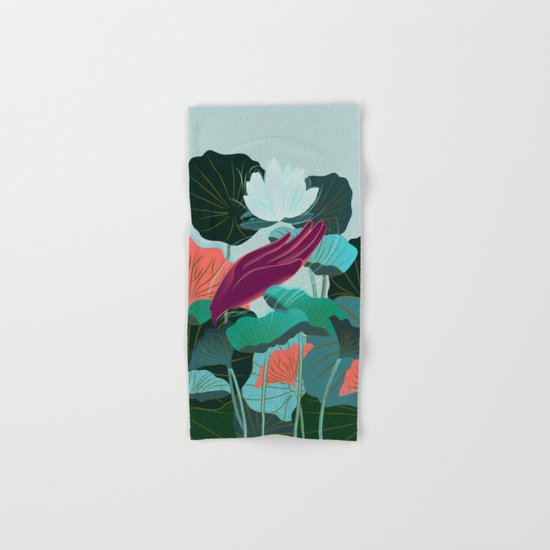 Lotus Magic - 05 Hand & Bath Towel