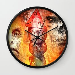 Roll For Initiative Wall Clock
