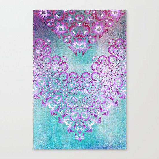 Floral Fairy Tale Canvas Print