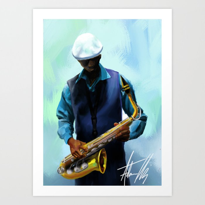 Cool Jazz Art Print