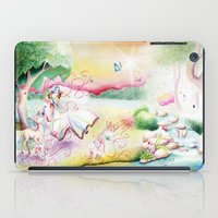 fairy tale iPad Cases featuring Fairy Tale by Julie Edwards