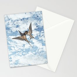 The return. Stationery Cards