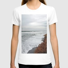 Land and Sea and the line Between T-shirt