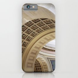 Wisconsin Capitol Building Arches And Angles iPhone Case