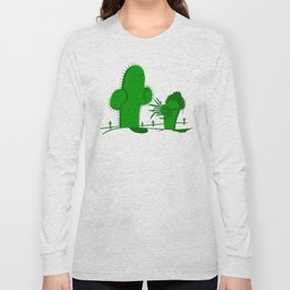 Cactus Scissorhands Long Sleeve T-shirt