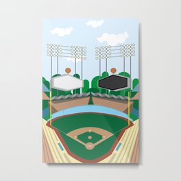 Dodger Stadium Metal Print