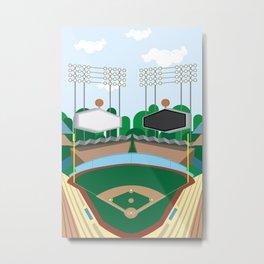 Dodger Stadium Metal Print