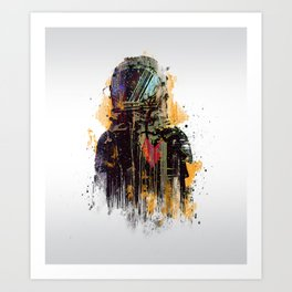 catcher Art Print