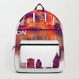 Houston Texas Skyline Backpack