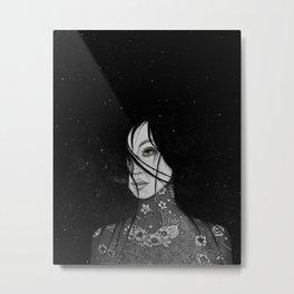 The Flower Girl Metal Print