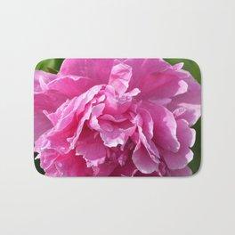 Pink Peony Bath Mat