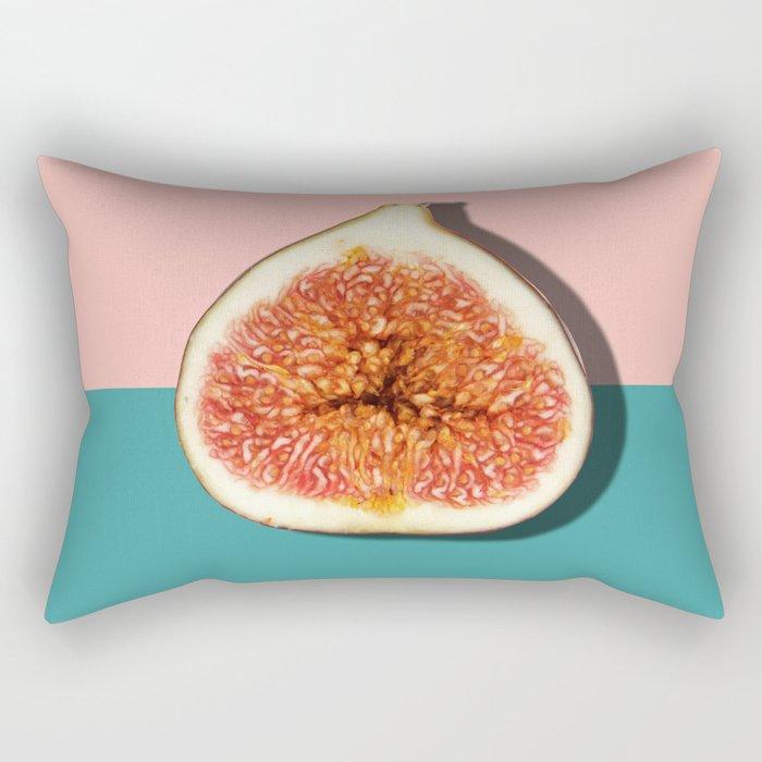 Half Slice Fruit Rectangular Pillow