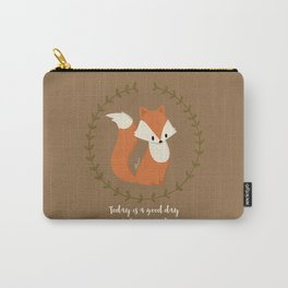 Renard roux // Red fox Carry-All Pouch