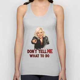 Don't Tell Amy What to Do Unisex Tank Top