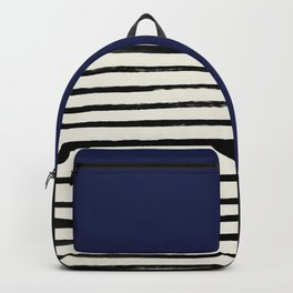 Navy x Stripes Backpack