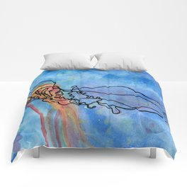 Jellyfish meet Jellyfish Comforters