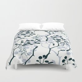 twigs with berries Duvet Cover
