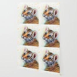 Tiger Cub Cute Baby Animals Wallpaper