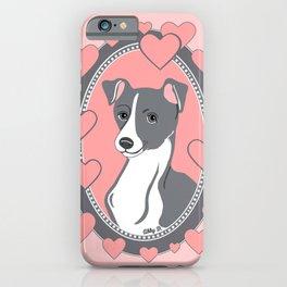 Italian Greyhound Love iPhone Case