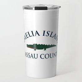 Amelia Island -Florida . Travel Mug