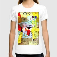 kandinsky T-shirts featuring Without incident by Kay Weber