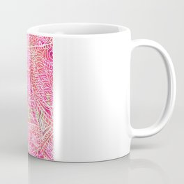 Pink Safari | Tribal Paisley Elephant Henna Pattern Coffee Mug