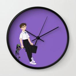 01 Shinji Ikari Wall Clock