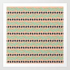 Tapas - Rows Art Print