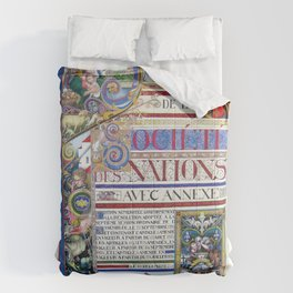 Arthur Szyk - Covenant of the League of Nations - Digital Remastered Edition Comforters