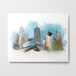 Chicagoland Metal Print