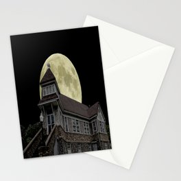 Super Moon Rising Stationery Cards