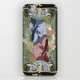 Money is the Difference Between a Business and a Booty Call iPhone Skin