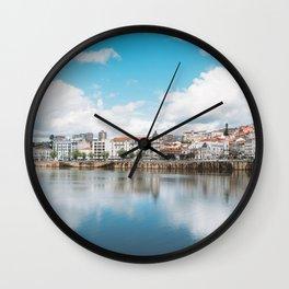 Coimbra, Portugal Wall Clock
