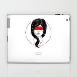 Whispers & Tongue Laptop & iPad Skin
