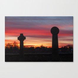 Durham Sunset Canvas Print