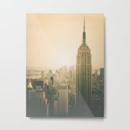 New York City - Empire State Building Metal Print