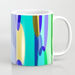 Elliptical abstract Coffee Mug