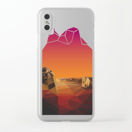 Absence Clear iPhone Case