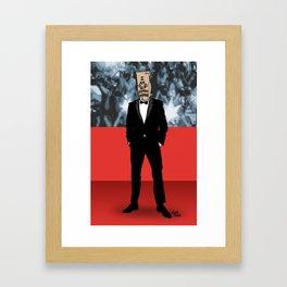 I Am Not Famous Anymore Framed Art Print