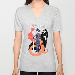 The Knight, Death, & the Devil Unisex V-Neck