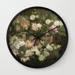 Maria Oakey Dewing - Garden In May1895 Wall Clock
