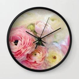 le fleur Wall Clock